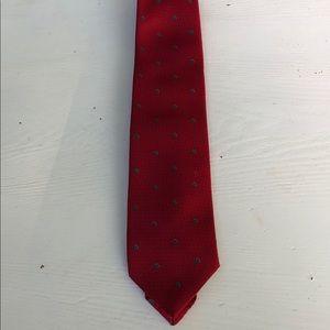 Christian Dior Monsieur Red Tie Neck Tie